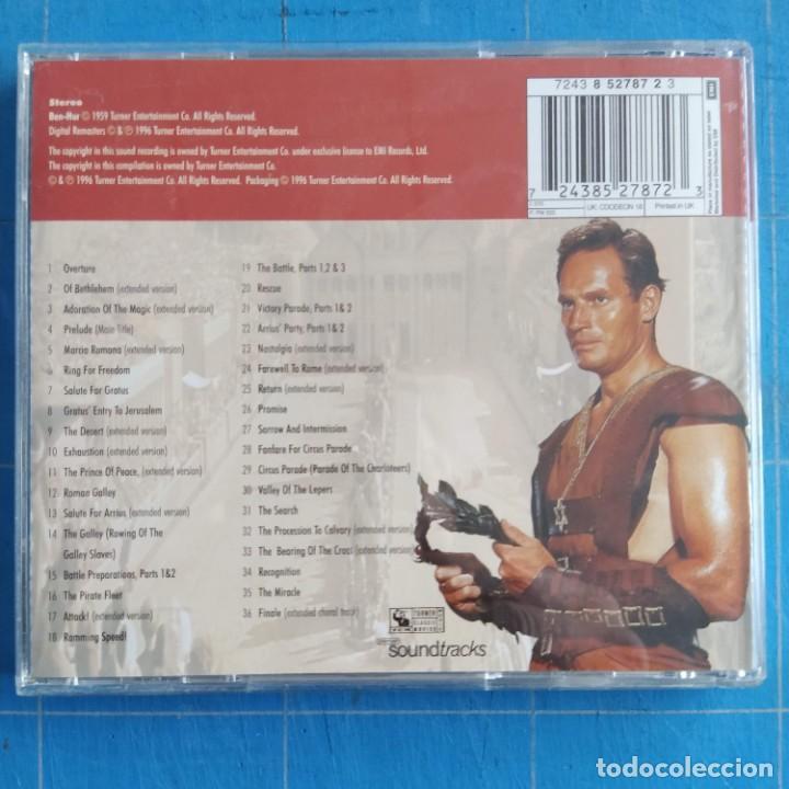 CDs de Música: Miklos Rozsa - Ben-Hur (Original Motion Picture Soundtrack) (CD, RM) - Foto 2 - 236639090