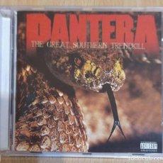 CDs de Música: PANTERA (THE GREAT SOUTHERN TRENDKILL) CD 1996. Lote 236646860