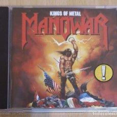 CDs de Música: MANOWAR (KINGS OF METAL) CD 1988. Lote 236647120