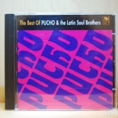 CDs de Música: PUCHO & THE LATIN SOUL BROTHERS - THE BEST OF - CD -. Lote 236667130