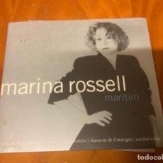CDs de Música: CD MARINA ROSELL MARITIM. Lote 236668455