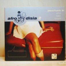 CDs de Música: AFRODISIA 2 - JAZZ/FUNK, AFRO, LATIN, BRASIL - CD -. Lote 236668695