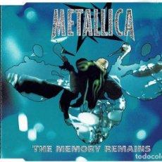 CDs de Música: METALLICA - THE MEMORY REMAINS PART 2. CD SINGLE. Lote 236673125