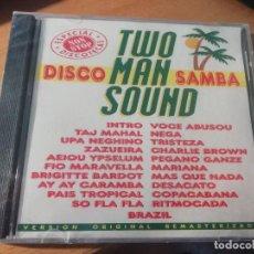 CDs de Música: RAR CD. TWO MAN SOUND. DISCO SAMBA. SEALED. PRECINTADO. MADE IN SPAIN. Lote 236685520