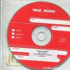 CDs de Música: NURIA FERGO / DE VUELTA (AVANCE). Lote 236688565