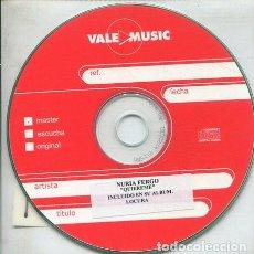 CDs de Música: NURIA FERGO / QUIEREME (AVANCE). Lote 236688600