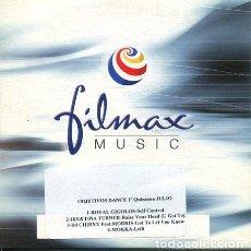 CDs de Música: OBJETIVOS DANCE 1ª QUINCENA JULIO (CD SINGLE CARTON PROMO). Lote 236688730