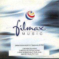 CDs de Música: OBJETIVOS DANCE 1ª QUINCENA JUNIO (CD SINGLE CARTON PROMO). Lote 236688765