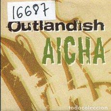 CDs de Música: OUTLANDISH / AICHA (CD SINGLE CARTON PROMO 2002). Lote 236689075