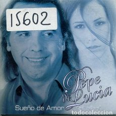 CDs de Música: PEPE DE LUCIA /SUEÑO DE AMOR (CD SINGLE CARTON PROMO 2002). Lote 236690820