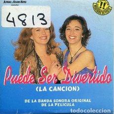 CDs de Música: PUEDE SER DIVERTIDO (BSO) CD SINGLE CARTON PROMO 1996. Lote 236691975
