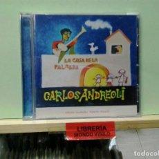 CDs de Música: LMV - CARLOS ANDREOLI. LA CASA DE LA PALABRA - CD. Lote 236693130