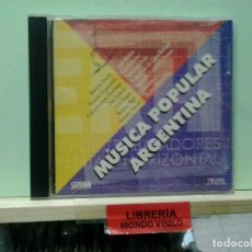 CDs de Música: LMV - MÚSICA POPULAR ARGENTINA - CD. Lote 236694725