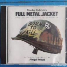 CDs de Música: STANLEY KUBRICK'S FULL METAL JACKET - ORIGINAL MOTION PICTURE SOUNDTRACK (CD, COMP). Lote 236695035