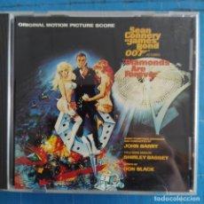 CDs de Música: JOHN BARRY - DIAMONDS ARE FOREVER (ORIGINAL MOTION PICTURE SCORE) (CD, ALBUM). Lote 236695615