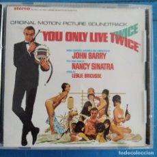 CDs de Música: JOHN BARRY - YOU ONLY LIVE TWICE (ORIGINAL MOTION PICTURE SOUNDTRACK) (CD, ALBUM). Lote 236695710