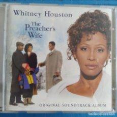 CDs de Música: WHITNEY HOUSTON - THE PREACHER'S WIFE (ORIGINAL SOUNDTRACK ALBUM) (CD, ALBUM). Lote 236696665