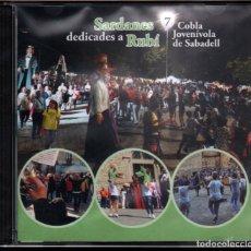 CDs de Música: COBLA JOVENÍVOLA DE SABADELL - SARDANES DEDICADES A RUBÍ, VOL.7. Lote 236705900