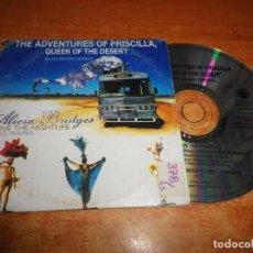 CDs de Música: THE ADVENTURES OF PRISCILLA QUEEN OF THE DESERT BANDA SONORA ALICIA BRIDGES CD SINGLE PROMO ESPAÑA. Lote 236726145