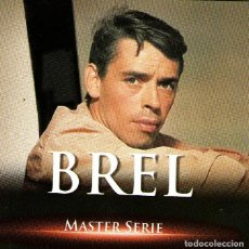 CDs de Música: JACQUES BREL - BREL - MASTER SERIE VOL. 1 - 16 TRACKS - ED. UNIVERSAL LICENSING MUSIC - AÑO 2003.. Lote 236730115