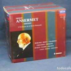 CDs de Música: ERNERST ANSERMET EDITION - L´ORCHESTR DE LA SUISSE ROMANDE - 12 CD. Lote 236731045