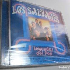 CDs de Música: CD LOS SALVAJES. 7 TEMAS. BRISA 2016 SPAIN (PRECINTADO). Lote 236731220