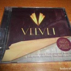 CDs de Música: VELVET BANDA SONORA DE LA SERIE DE TV DOBLE CD PRECINTADO 2014 BRENDA LEE DINAH WASHINGTON 2 CD. Lote 236732125