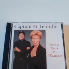 CDs de Música: CAPTAIN & TENNILLE TWENTY YEARS OF ROMANCE ( 1995 K TEL USA ) EXCELENTE ESTADO. Lote 236732650