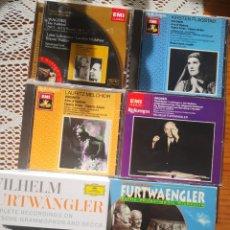 CDs de Música: PACK WILHELM FURTWANGLER, WAGNER. Lote 236734110
