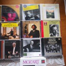 CDs de Música: PACK MOZART, MURRAY PERAHIA. Lote 236734445