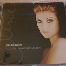 CDs de Música: CELINE DION CD LET TALK ABOUT LOVE TITANIC BEE BARBRA PAVAROTI COME PROMO + 5 € ENVIO C.NACIONAL. Lote 236740470