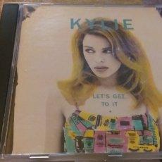 CDs de Música: KYLIE MINOGUE CD LETS GET TO IT SEGUNDAMANO OFERTA + 5€ ENVIO C.N. Lote 236742780