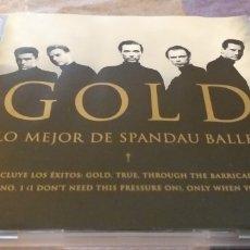 CDs de Música: SPANDAU BALLET CD GOLD LO MEJOR DE SPANDAU BALLET SEGUNDAMANO OFERTA +5€ ENVIO C.N. Lote 236743145