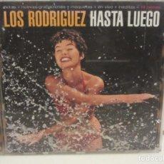 CDs de Música: LOS RODRIGUEZ - HASTA LUEGO - CD - 1996 - SPAIN - VG/VG+. Lote 236743825