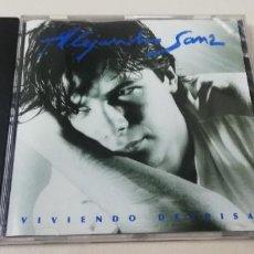 CDs de Música: C7- ALEJANDRO SANZ VIVIENDO DEPRISA -CD N2. Lote 236744875