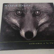 CDs de Música: C7- MANOLO GARCIA SALDREMOS A LA LLUVIA -CD. Lote 236745935