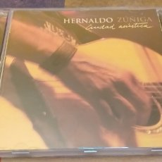 CDs de Música: HERNALDO ZUÑIGA CD CIUDAD ACUSTICA SEGUNDAMANO + 5€ ENVIO CN. Lote 236746730