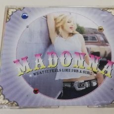 CDs de Música: C7- MADONNA WHAT IT FEELS LIKE FOR A GIRL-CD. Lote 236747165