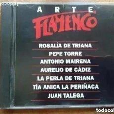 CDs de Música: ARTE FLAMENCO ORBIS. ANTOLOGIA I ROSALIA DE TRIANA JUAN TALEGA PEPE TORRE. (CD). Lote 236789635