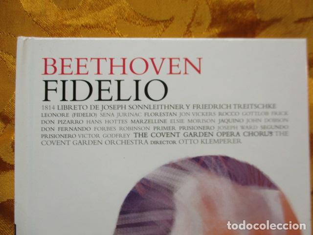 CDs de Música: BEETHOVEN - FIDELIO (2 CDS + LIBRO) COMO NUEVO - Foto 2 - 236802890