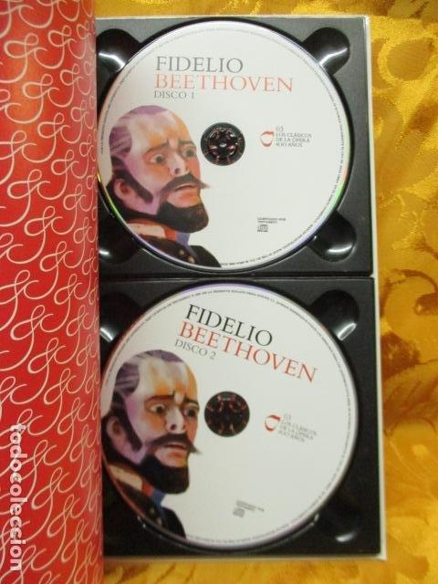 CDs de Música: BEETHOVEN - FIDELIO (2 CDS + LIBRO) COMO NUEVO - Foto 9 - 236802890