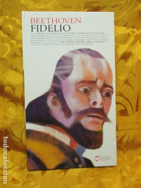BEETHOVEN - FIDELIO (2 CDS + LIBRO) COMO NUEVO (Música - CD's Clásica, Ópera, Zarzuela y Marchas)