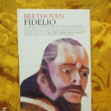 CDs de Música: BEETHOVEN - FIDELIO (2 CDS + LIBRO) COMO NUEVO. Lote 236802890