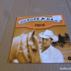 CDs de Música: COYOTE DAX / DIJO SI (CD SINGLE CARTON 2002). Lote 236828040