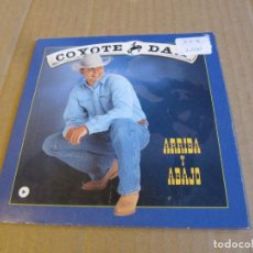 CDs de Música: COYOTE DAX - ARRIBA Y ABAJO SINGLE CARTON PROMO. Lote 236828190