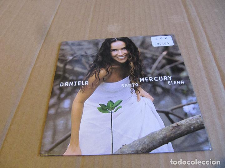 RARE CD PROMO 2 TRACK DANIELA MERCURY - SANTA ELENA - SPANISH 2000 (Música - CD's Latina)
