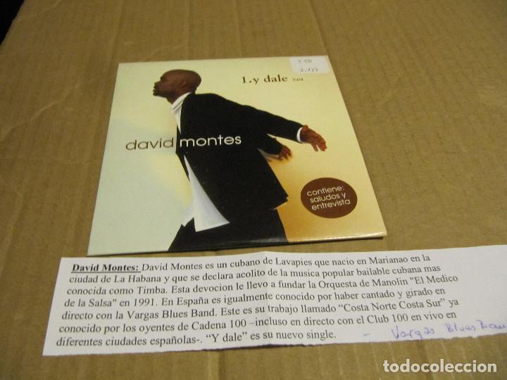 DAVID MONTES - Y DALE - CD PROMOCIONAL CADENA 100 (Música - CD's Latina)