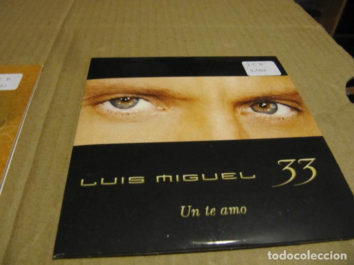 LUIS MIGUEL 'UN TE AMO' CD SINGLE PROMO 2003 33 (Música - CD's Latina)