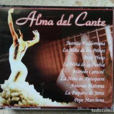 CDs de Música: SET TRIPLE CD - ALMA DEL CANTE : A. MAIRENA / PAQUERA / NIÑA DE ANTEQUERA / M. CARACOL / PORRINA ETC. Lote 236870955