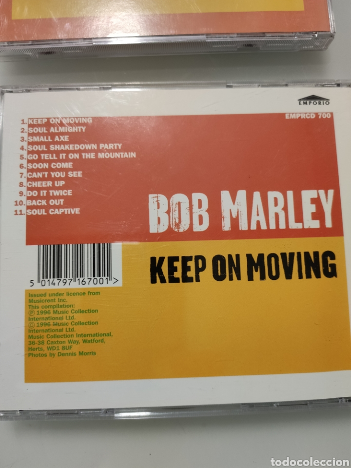 CDs de Música: 4 CDs BOB MARLEY - Foto 5 - 236872420